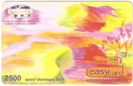 Armenia-ArmenTel Prepaid Card 2500 Amd, Expire Date 31/12/2008, Sample - Armenia