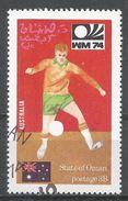 State Of Oman 1974. #J (U) Soccer World Cup Championship, Australian Flag - Oman