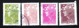 4 Timbres - 2008-13 Marianne De Beaujard - 2008-13 Marianne Of Beaujard