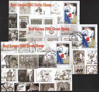 Malta 2002 / Best Europa CEPT Circus Stamp - 2002