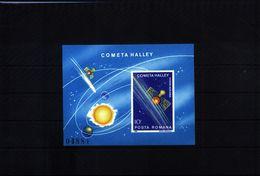 Romania1986 Halley Comet Block MNH - Space