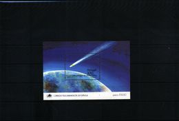 Portugal1986 Halley Comet Block MNH - Space