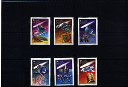 Hungary 1986 Halley Comet Michel 3805-3810A  MNH - Space