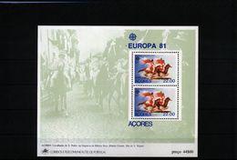 Portugal Azoren 1981 Europa Cept Michel Block 2  MNH - Europa-CEPT