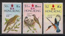 Hong Kong - 1975 - N°Yv. 300 à 302 - Oiseaux - Neuf Luxe ** / MNH / Postfrisch - Birds