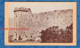 Photo Ancienne CDV - FIUME / RIJEKA - Fortifications Fort Rempart - 1874 - Bateau Croatie Croatia Primorje Gorski Kotar - Fotos