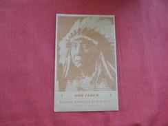 Red Cloud    Native Americans-----ref 2799 - Indiens De L'Amerique Du Nord