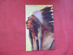 Chief  Eagle Feather   Native Americans-----ref 2799 - Indiani Dell'America Del Nord
