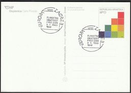 Croatia Zagreb 2003 / Europa CEPT / Poster Art - Europa-CEPT
