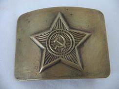 Boucle Ceinture Russe WW2 - Uniformes