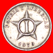√ STAR: CUBA ★ 1 CENTAVO 1979!  LOW START ★ NO RESERVE! - Cuba