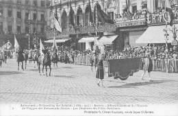 ANTWERPEN - Vrijmaking Der Schelde (1863 - 1913) - 06 - De Vlaggen Der Italiaansche Steden. - Antwerpen