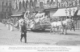 ANTWERPEN - Vrijmaking Der Schelde (1863 - 1913) - 08 - De Handel (Mercurius) En De Scheepvaart (Neptunus). - Antwerpen