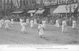 ANTWERPEN - Vrijmaking Der Schelde (1863 - 1913) - 09 - Groep Meisjes Die Bloemen Strooien. - Antwerpen