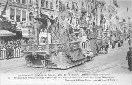 ANTWERPEN - Vrijmaking Der Schelde (1863 - 1913) - 19 - De Maagd Der Hanze, Ontvangt De Plannen Van Het Hanzegebouw. - Antwerpen