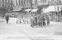 ANTWERPEN - Vrijmaking Der Schelde (1863 - 1913) - 20 - De Hanzeaten, Ea De Verzustering Der Steden Met Antwerpen. - Antwerpen