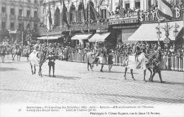 ANTWERPEN - Vrijmaking Der Schelde (1863 - 1913) - 28 - Gevolg Van Keizer Karel. - Antwerpen