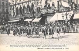 ANTWERPEN - Vrijmaking Der Schelde (1863 - 1913) - 29 - Groep Vreemde Rederijkers Huldigen Albreecht Dûrer. - Antwerpen
