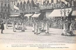 ANTWERPEN - Vrijmaking Der Schelde (1863 - 1913) - 39 - Maagden Met Bloemkorven. - Antwerpen