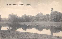 CAMBRON-CASTEAU - Le Château - L'étang. - Brugelette