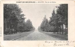 CAMP De BEVERLOO - HECHTEL.  Vue De La Station. - Leopoldsburg (Kamp Van Beverloo)