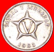 √ CZECHOSLOVAKIA: CUBA ★ 5 CENTAVOS 1963! LOW START ★ NO RESERVE! - Cuba