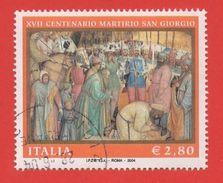 2004 (2760) Martirio Di San Giorgio - Leggi Il Messaggio Del Venditore - 6. 1946-.. Repubblica