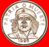 √ CHE GUEVARA (1928-1967): CUBA ★ 3 PESOS 1995 UNC MINT LUSTER! LOW START ★ NO RESERVE! - Cuba