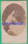 Photo - CDV - La Duchesse D'Albe, Soeur De L'impératrice Eugénie - Photographe Mayer & Pierson à Paris - Célébrités