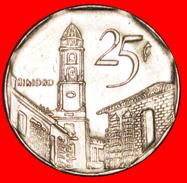 √ TRINIDAD: CUBA ★ 25 CENTAVOS 2003 COIN Alignment ↑↓ CONVERTIBLE PESO MINT LUSTER! LOW START ★ NO RESERVE! - Cuba