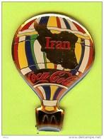 Pin's Coca-Cola Mac Do McDonald's Montgolfière Iran - 4W24 - Coca-Cola