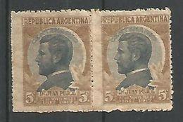 Pujol 5c Pardo Oliva Y Pizarra - Argentina