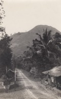 Indonesia West Java Road Sign 'Garoet' & Leuwigoong (Leuwicoong), Near Bandung(?) C1920s Vintage Real Photo Postcard - Indonesia