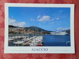 "Dep 20 , Cpm  AJACCIO , Le ""Napoléon"" Dans Le Port , 10 20 0981 (12.163) - Ajaccio"