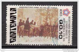 Guatemala, Indépendance Des USA, Bicentenaire Des USA, Histoire, History, Cheval, Horse, Militaria, Washington - Indipendenza Stati Uniti