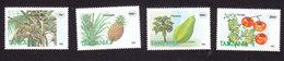 Tanzania, Scott #1329-1332, Mint Hinged, Fruit, Issued 1995 - Tanzania (1964-...)