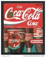 Denmark - Danmont, DD036, Coca- Cola, 100 Kr, 2.876ex, 9/94, Mint - Denmark