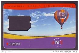 UKRAINE. UMC GSM COMPANY. SIM CARD (AIR BALLOON). Frame Without Chip - Oekraïne