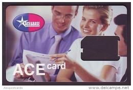 "UKRAINE. KYIVSTAR GSM ""ACE & BASE"" SIM CARD. ""ACE"" NEW TYPE Frame Without Chip. Nr. 2 - Oekraïne"