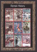 Tanzania, Scott #1359-1360, Mint Never Hinged, Olympics, Issued 1995 - Tanzania (1964-...)