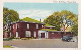 Nebraska Fremont Golf Club Curteich - Fremont