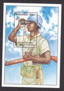 Tanzania, Scott #1358, Mint Never Hinged, 50th Anniversary Of UN, Issued 1995 - Tanzania (1964-...)