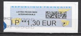 ##4, France, Vignette D'affranchissement, Lettre Prioritaire Internationale - 2000 «Avions En Papier»