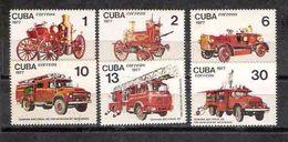 2607  Firemen - Pompiers -  1977 -  - No Gum - 1.25 - Bombero