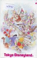 Télécarte Japon * 110-171212 * MERRY CHRISTMAS * DISNEY  DISNEYLAND (4790)  Japan Phonecard - Disney