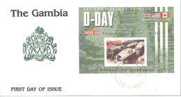 FDC 2004 GAMBIA - 2. Weltkrieg