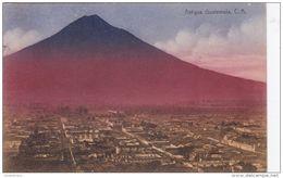Antigua Guatemala Volcán De Agua Volcano Vulkaan Volcan Vulcano  UNESCO World Heritage Site - Guatemala