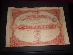 CHOCOLAT CARPENTIER (1906) Clichy - Actions & Titres