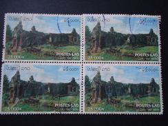 LAOS  USED   STAMPS MONUMENTS - Laos