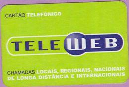 Télécarte Portugal °° Tele Web Chamadas - Carton Plastifié  RV - Portugal